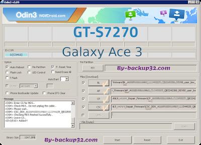 سوفت وير هاتف Galaxy Ace 3 موديل GT-S7270 روم الاصلاح 4 ملفات تحميل مباشر