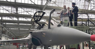 Rafale of France is now in the service of the Indian Air Force.
