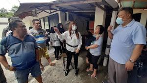 Bawa Bantuan Ringankan Beban Korban Kebakaran SSK temui Langsung Para Korban di Perkamil
