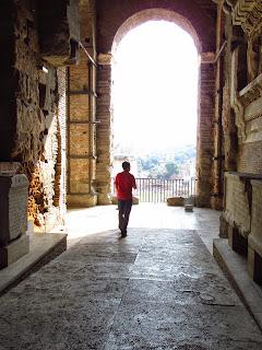Bright arch in Rome