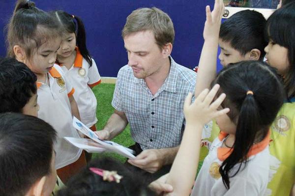mẫu giáo tư thục chuẩn quốc tế tại HCM