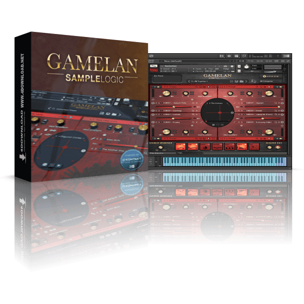 Sample Logic GAMELAN KONTAKT Library