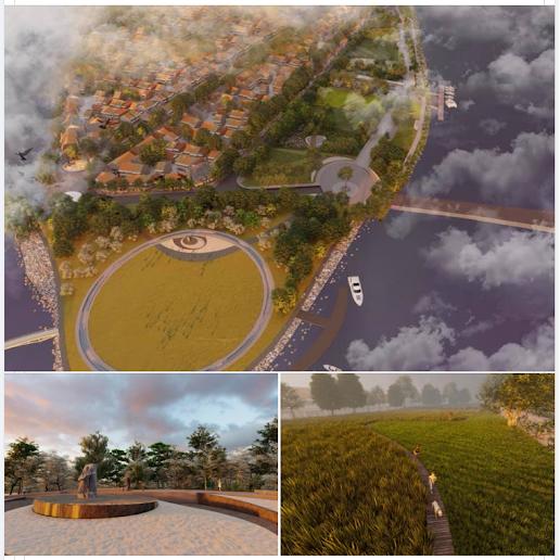 Toàn cảnh thiết kế công viên âm nhạc Trịnh Công Sơn