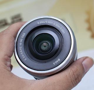 Jual Lensa Kit Sony 16-50mm OSS Bekas