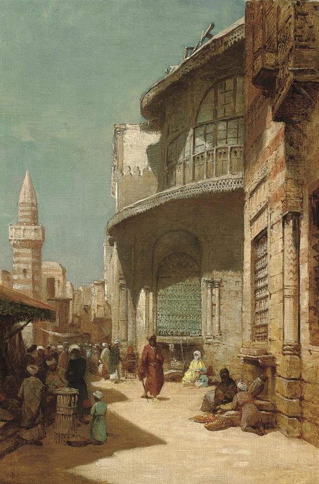 Frederick Goodall - An Orientalist English Painter (1822-1904)