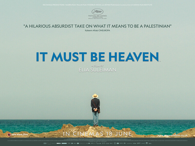 It Must Be Heaven poster