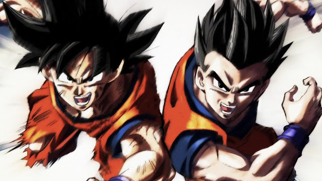 A fusão de Goku e Gohan!
