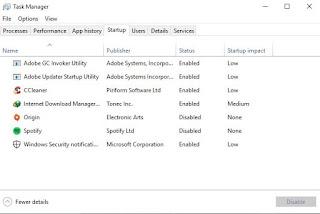 Cara Mengatur Aplikasi yang Terbuka Otomatis Saat Komputer dinyalakan di Windows 10