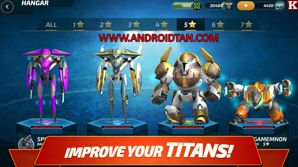 Forge of Titans: Mech Wars Mod Apk Latest Version