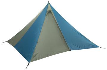 Appalachian Mountain Club S Equipped Floorless Pyramid Tents The Mountain Hardwear