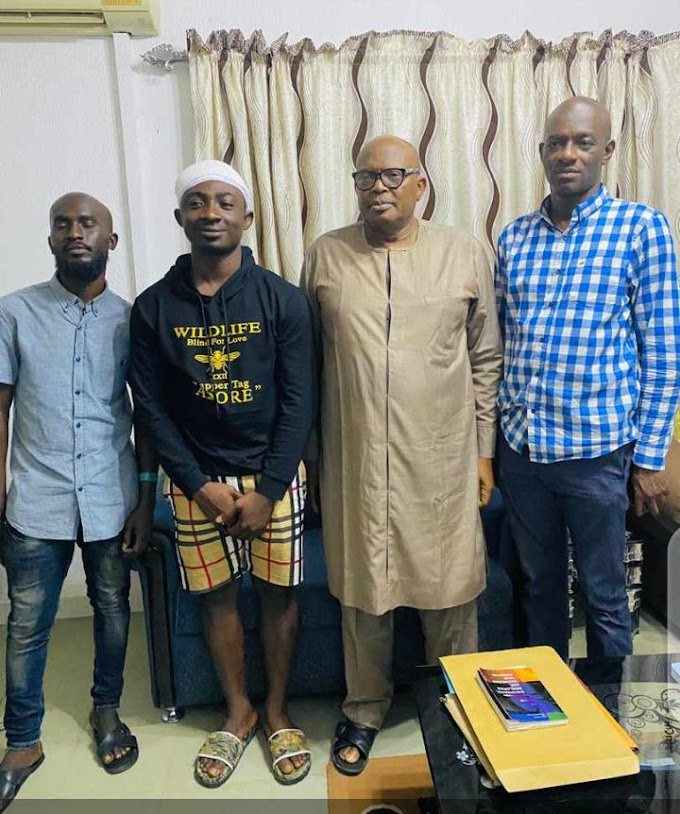 #ENDSARS PROTEST: LAUTECH Vice Chancellor Visits Injured Student To Ascertain Health Conditions At The Hospital, Sympathises With Others And Sues For Peace