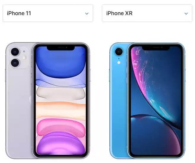 Apple iPhone 11 and iPhone Xr