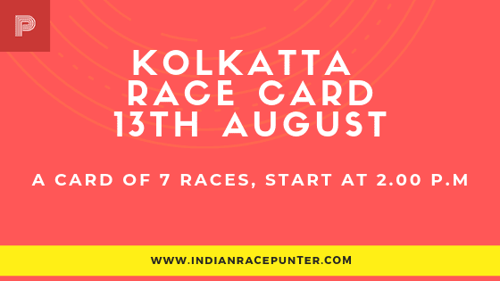 Kolkatta Race Card, free indian horse racing tips, trackeagle,racingpulse