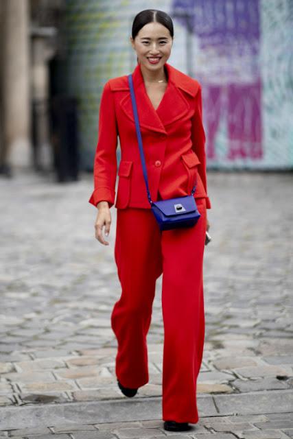 Модные образы яркой одежды 9