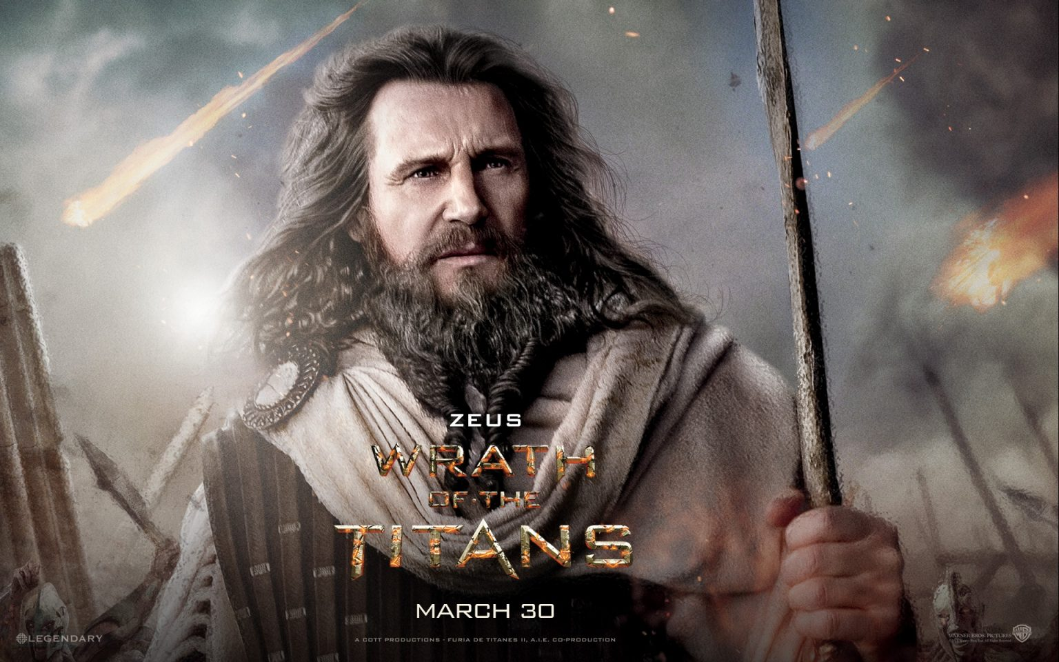 Liam Neeson mong muốn quay lại vai Zeus trong loạt phim Clash of the Titans