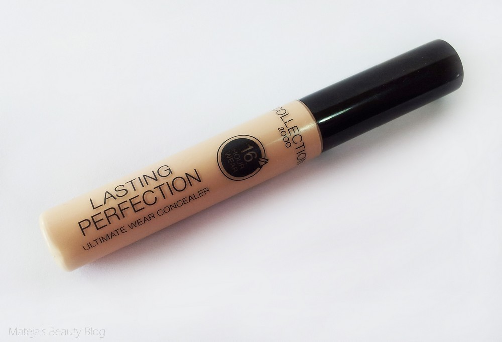 Collection 2000 Lasting Perfection Ultimate Wear Concealer - Mateja's Beauty Blog