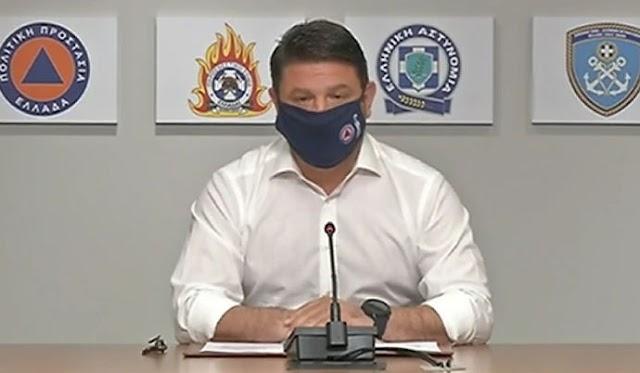 Μάσκες παντού! Τα νέα μέτρα που ανακοίνωσε ο Ν. Χαρδαλιάς