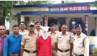 व्यापारी के साथ लूट करने वाला आरोपी गिरफ्तार
