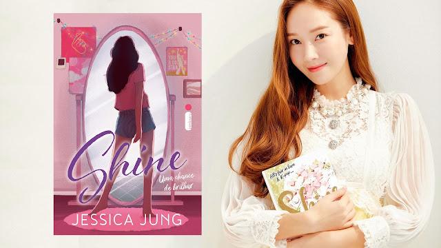 Shine, livro de Jessica Jung, ganha pré-venda no Brasil pela Editora Intrinseca