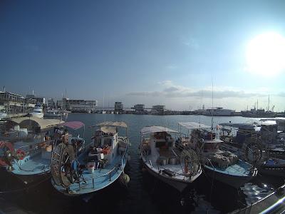 Limassol Cypr zimą