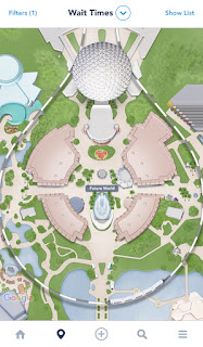Epcot Future World Map August 2019 My Disney Experience