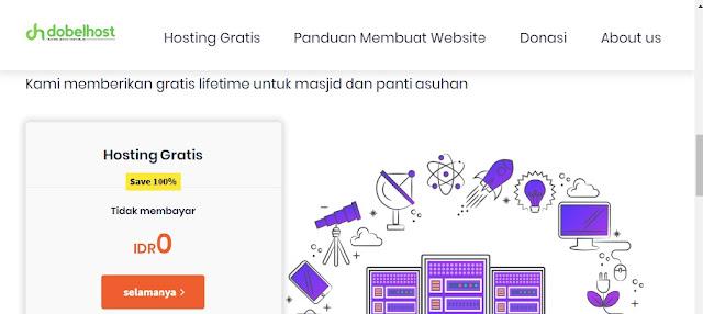 cara mendaftar hosting gratis