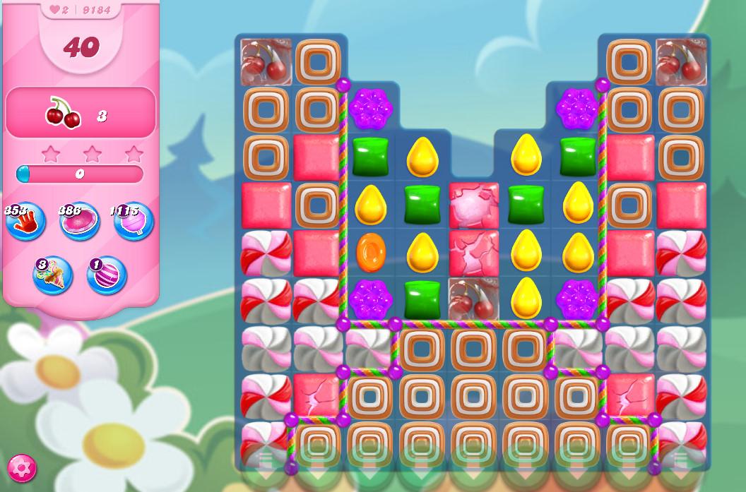 Candy Crush Saga level 9184