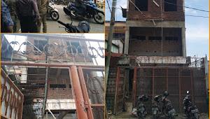 Satpol PP Kota Medan Bongkar Bangunan Ruko 3 Lantai Tanpa SIMB di Jalan Metal