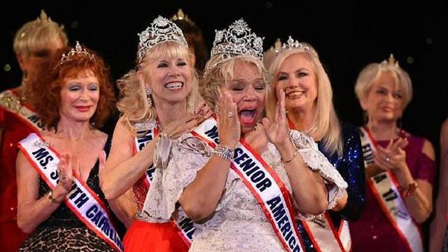 Nenek 73 Tahun Dinobatkan Jadi Ratu Kecantikan