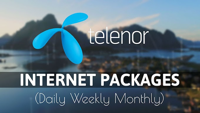 Telenor Internet Packages 2020 | Telenor Daily Weekly Monthly Internet Packages 2020