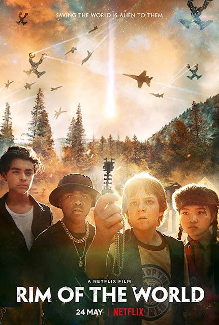 Rim of the World 2019 Netflix movie poster