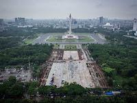 Revitalisasi Monas, Pemprov DKI Diduga Langgar Keputusan Presiden