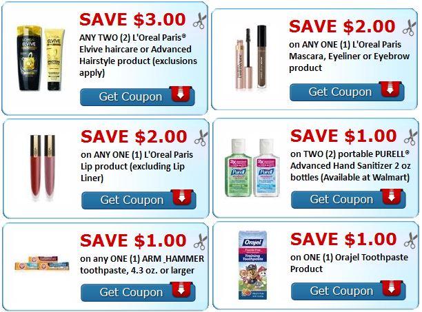loreal-shampoo-loreal-makeup-arm-hammer-oralgel-purell-printable-coupons