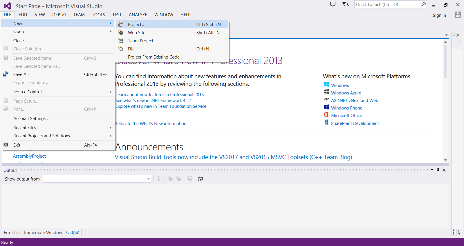 Introduction to writing x64 assembly in Visual Studio