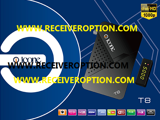 ICONE T8 HD RECEIVER POWERVU KEY NEW SOFTWARE