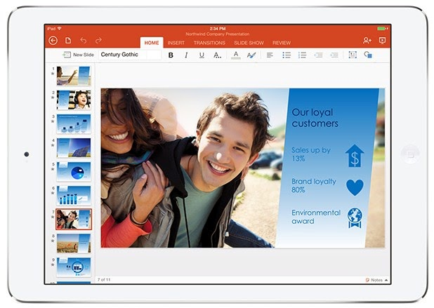 Official Microsoft Office for iPad has been Released - Download Now