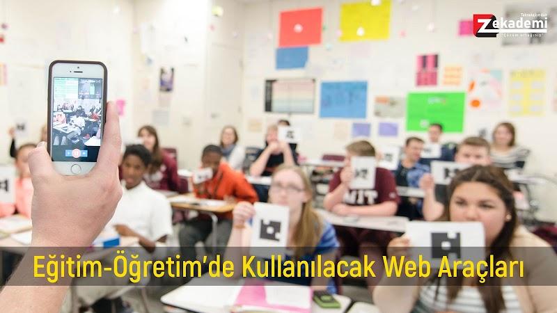 Eğitimde Kullanılacak 10'larca Web Araçları