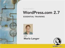 Video Training WordPress.com 2.7 Essential Training