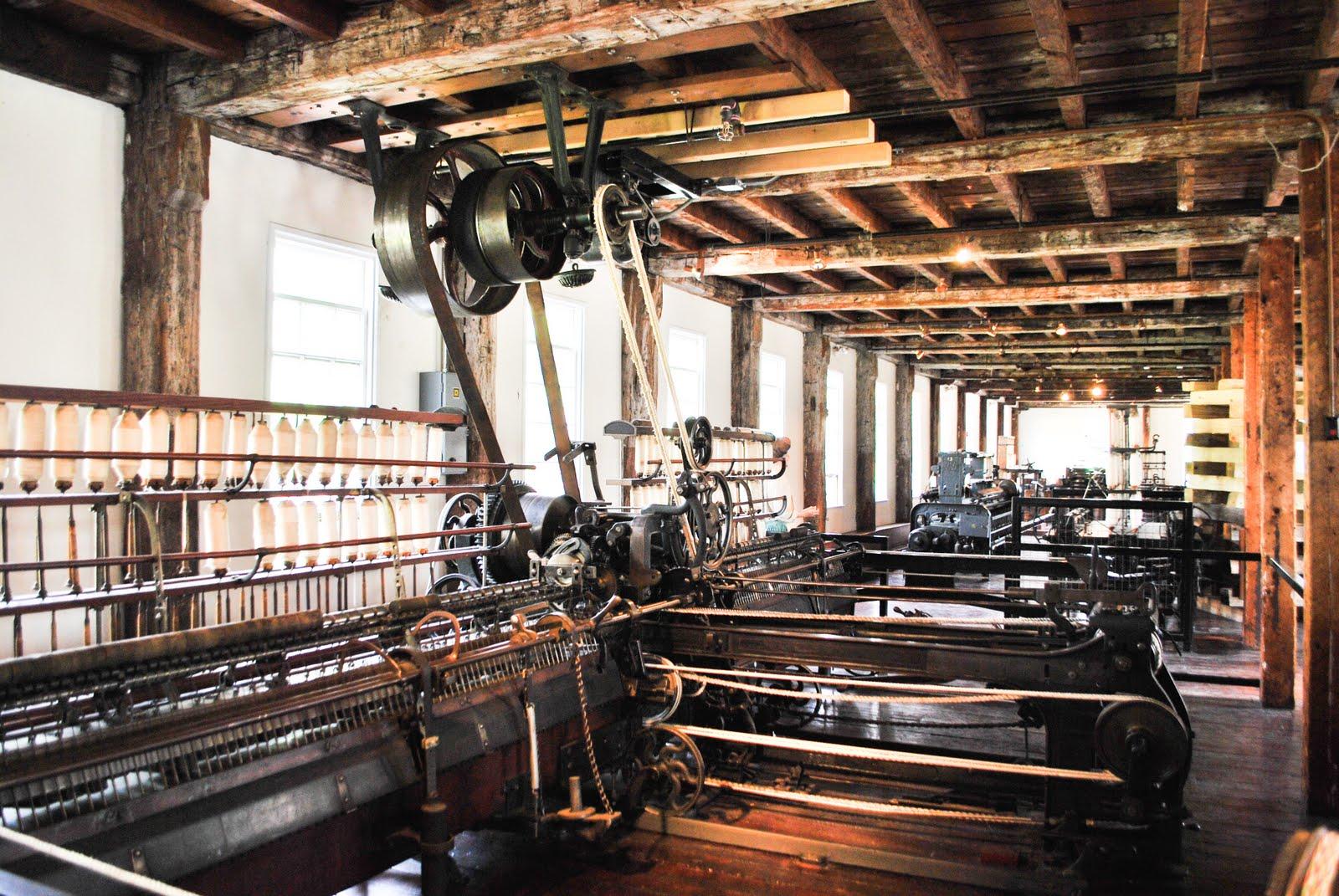 Wheel Alignment Machine >> DE-SE: Slater Mill museum