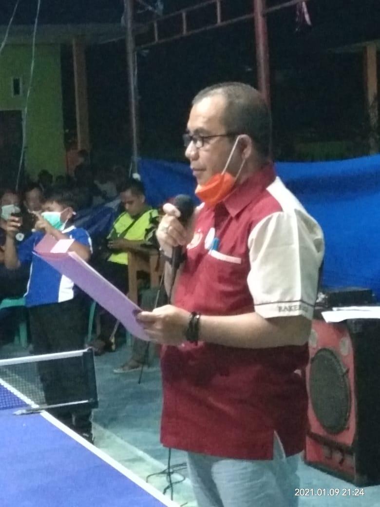 Ketua KONI Parimo Kukuhkan Pengurus PTM Ogolugus Kecamatan Ampibabo
