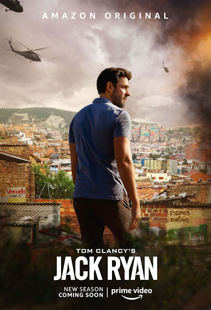 'Tom Clancy's Jack Ryan' póster segunda temporada