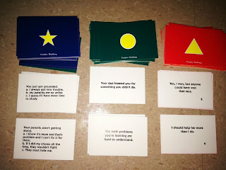 Positive Thinking game cards The Responsive Counselor