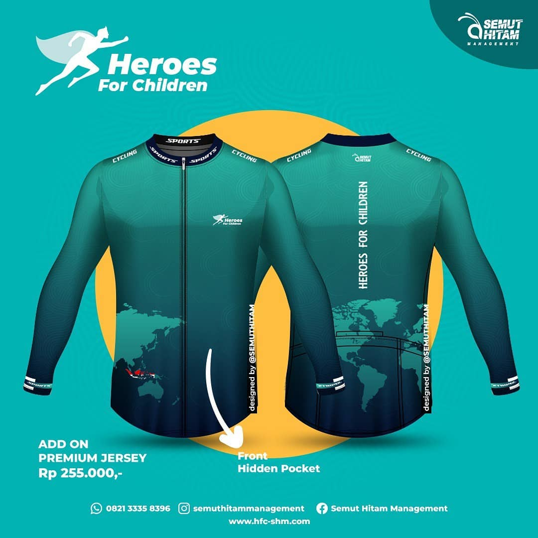 Jersey Ride Long 👕 Heroes for Children • 2021