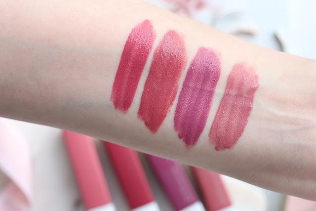 Maybelline SuperStay Matte Ink lipsticks