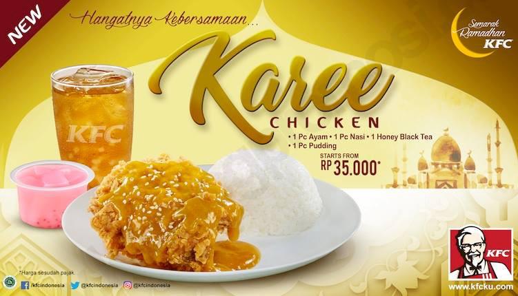 Daftar Menu dan Harga Paket Dukduk KFC Ramadhan 2018