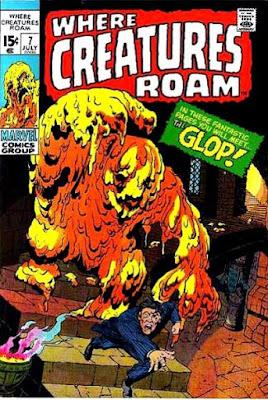Where Creatures Roam #7, Glop