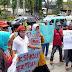 Puluhan Orang Yang Mengatasnamakan Diri Sebagai Aliansi Masyarakat Pesisir Selatan Bergerak, Kepung Kantor Gubernur