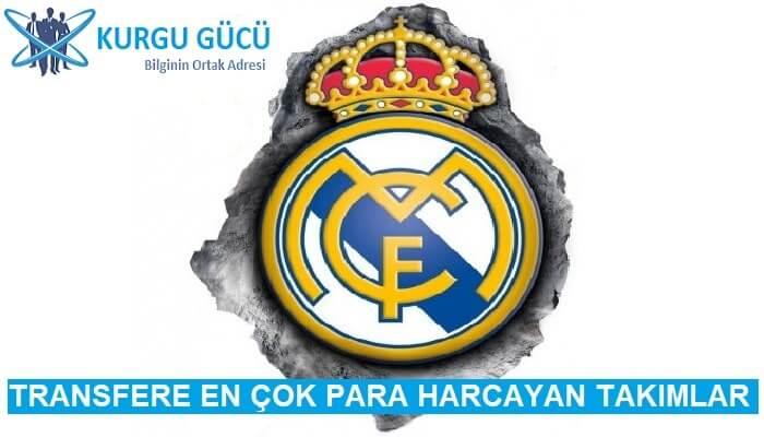 Transfere En Çok Para Harcayan Takımlar - Real Madrid - Kurgu Gücü