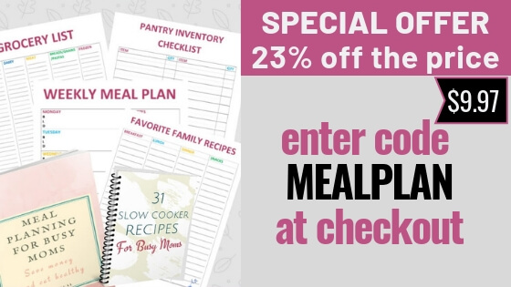 Meal planning for busy moms with picky eaters