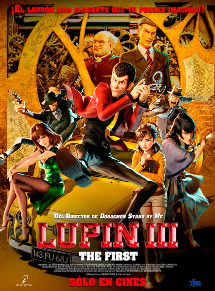 Lupin III: The First anime CGI film - Selecta Visión - poster